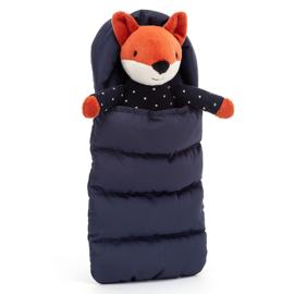 Jellycat Vos in slaapzak, Snuggler Fox