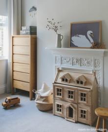 Plan Toys Houten Victoriaans Poppenhuis, Victorian Dollhouse