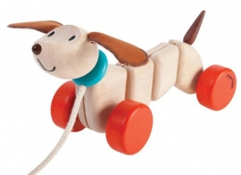 Plan Toys Trekdier hond, Happy Puppy