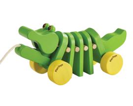 Plan Toys Trekdier Krokodil, Dancing Alligator