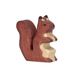 Holztiger Houten Eekhoorn bruin