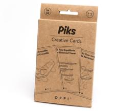 Oppi Piks Voorbeeldkaarten Set - Creative Cards 24-delig