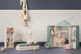 Maileg Ballerina Kat en Muis, Dancing Cat and Mouse in Shoebox