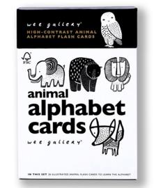 Wee Gallery, Kijkkaarten Alfabet Dieren, Animal Alphabet Cards