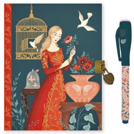 Djeco Dagboek met Slotje en Magische Pen, Lisa Perrin