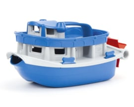 Green Toys Raderboot 'Paddleboat', Blauw