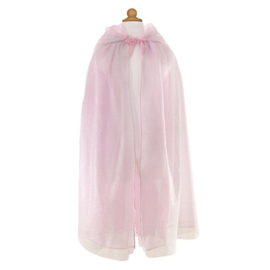 Prinsessen Cape Zilver/Roze, Royal Princess Cape, 5-7 jaar