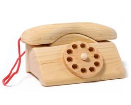 Grimm's Houten Telefoon