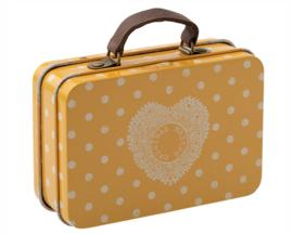 Maileg metalen koffertje, geel