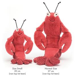 Jellycat Knuffel Kreeft, Larry Lobster Small, 20 cm