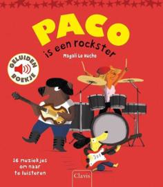 Paco is een Rockster - Geluidenboekje - Clavis