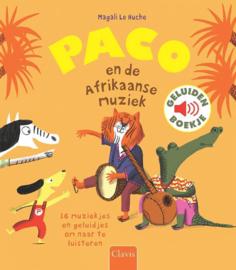 Paco en de Afrikaanse muziek - Geluidenboekje - Clavis