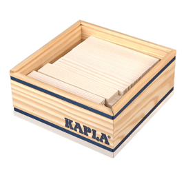Kapla 40 plankjes in kistje, wit