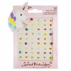 Nagel Stickers Unicorn, 50 stuks
