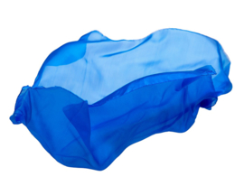 Sarah's Silks Speelzijde, Koningsblauw, 89 x 89 cm