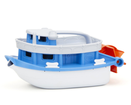 Green Toys Raderboot 'Paddleboat', Wit
