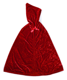 Roodkapje Cape, Red Riding Hood Cape, 3-4 jaar