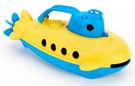 Green Toys Onderzeeer/ Duikboot 'Submarine' geel