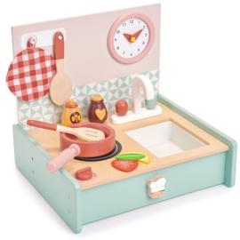 Kitchenette met accessoires - Tender Leaf Toys
