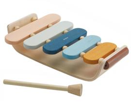 Plan Toys Xylofoon, Oval Xylophone, Orchard