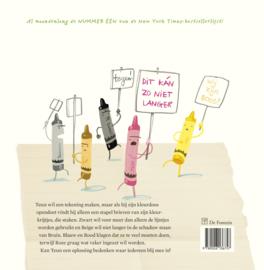 De krijtjes staken - Drew Daywalt & Oliver Jeffers - De Fontein