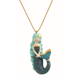 Djeco Ketting Lovely Charms Mermaid