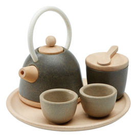Plan Toys Houten Theeservies Tea Set, Classic
