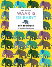 Waar is de baby? - zoekboek - Britta Teckentrup - Fontaine Uitgevers