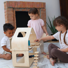Plan Toys Poppenhuis, Contemporary Dollhouse