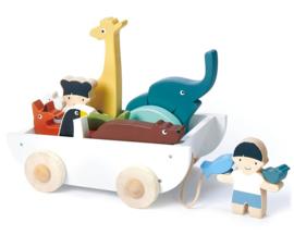 Vriendschapsboot - Tender Leaf Toys