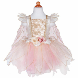 Prinsessenjurk/ Feeënjurk Golden Rose Fairy dress, 5-6 jaar
