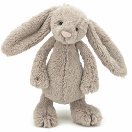 Jellycat Knuffel Konijn 18cm, Bashful Bunny Beige Small