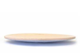 Wobbel360 blank gelakt - vilt baby muis (middengrijs)