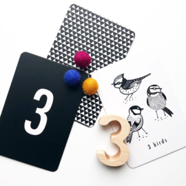 Wee Gallery, Kijkkaarten Cijfers, Nature Number Cards