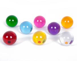 TickiT Transparante Bollen Set, Perception Spheres, 8-delig