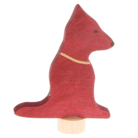 Grimm's Decoratiefiguur / Steker Hond