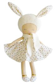 Alimrose Knuffelpop, Belle Bunny Gold Spot, 31 cm