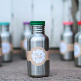 Blafre RVS drinkfles groen 500ml