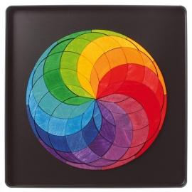 Grimm's Magneetpuzzel Kleurenspiraal/Kleurencirkel