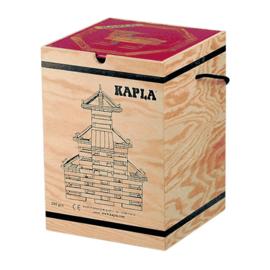 Kapla 280 plankjes in kist met voorbeeldboek