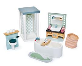 Poppenhuis Badkamer - Tender Leaf Toys
