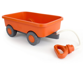 Green Toys Trekwagen, Orange Wagon