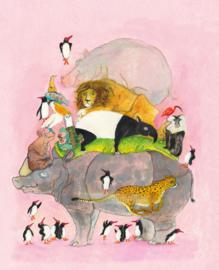 Springende pinguins en lachende hyena's - Marije Tolman & Jesse Goossens