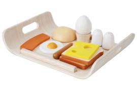 Plan Toys Houten ontbijtset