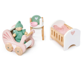 Poppenhuis Babykamer  - Tender Leaf Toys