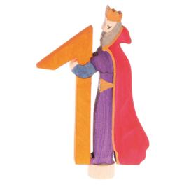 Grimm's Decoratiefiguur / Steker Sprookjes Cijfer 1