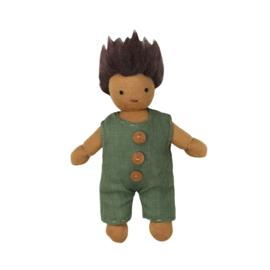 Olli Ella Holdie Folk poppenhuispopje Moss 11 cm