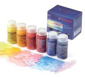 Stockmar Aquarelverf 6 kleuren a 20ml, Basiskleuren