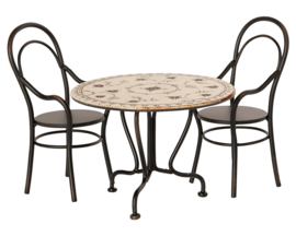 Maileg metalen Eethoek, Dining Table Set