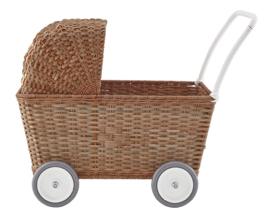 Olli Ella Poppenwagen Strolley Naturel